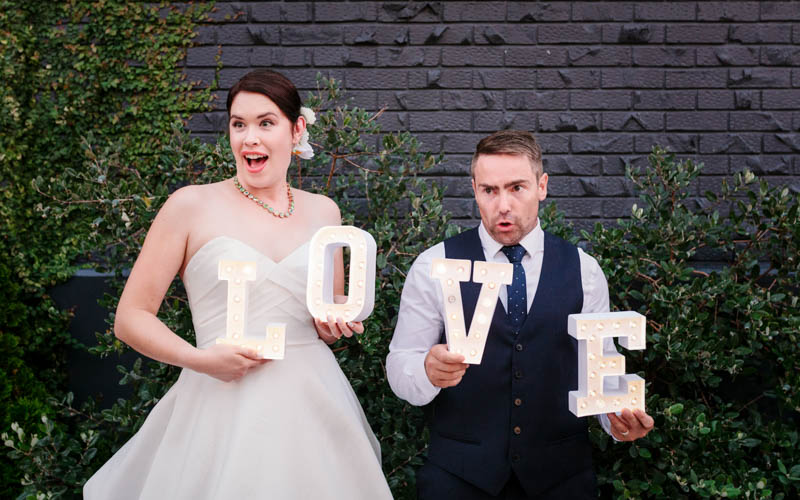 Ben and Brooke review of the photography for their Wellington City wedding